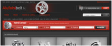 Webáruház referenciák - Alufelni Bolt
