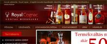 Webáruház referenciák - Royalcognac.hu webáruház