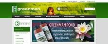 Webáruház referenciák - Greenman webáruház