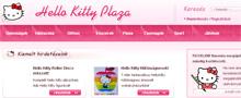 Webáruház referenciák - Hello Kitty Plaza