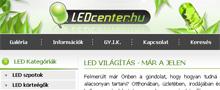 Webáruház referenciák - Ledcenter.hu webáruház
