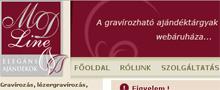 Webáruház referenciák - MDLine.hu webáruház