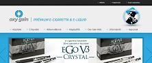 Webáruház referenciák - Oxy Gain elektromos cigaretta webáruház