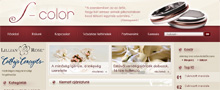 Webáruház referenciák - Esküvői kellék webáruház