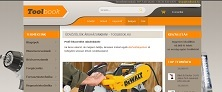 Webáruház referenciák - Toolbook webáruház