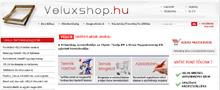 Webáruház referenciák - Tető-ablak.hu