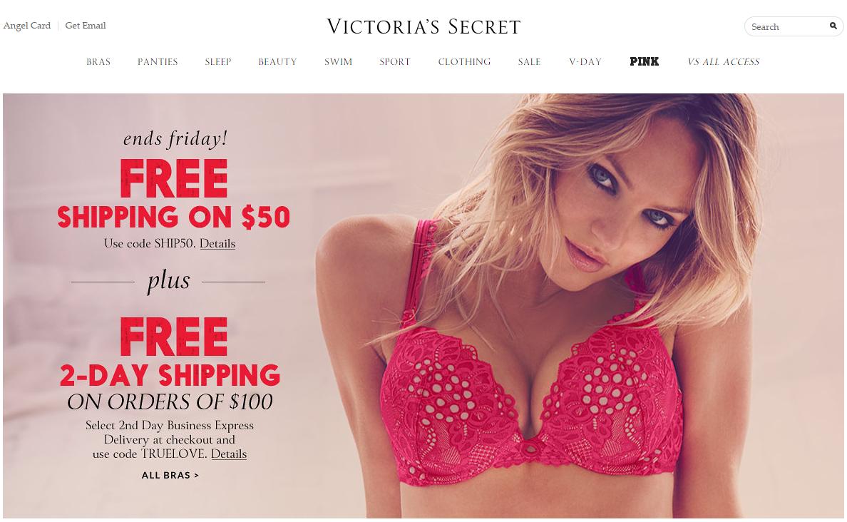 Victoriassecret webáruház